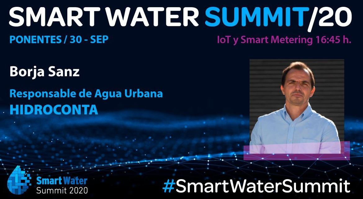 Borja Sanz smart water summit 2020