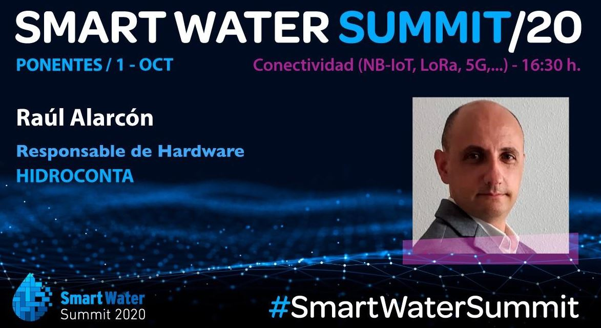 Raul Alarcon smart water summit 2020