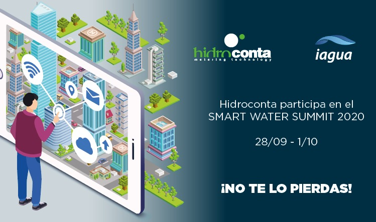 hidroconta smart water summit 2020