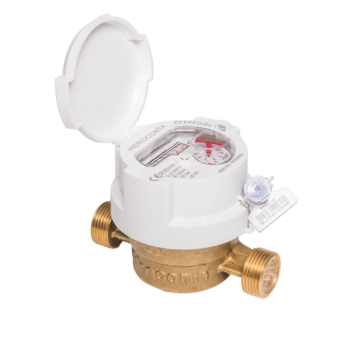 Contador de agua potable inductivo