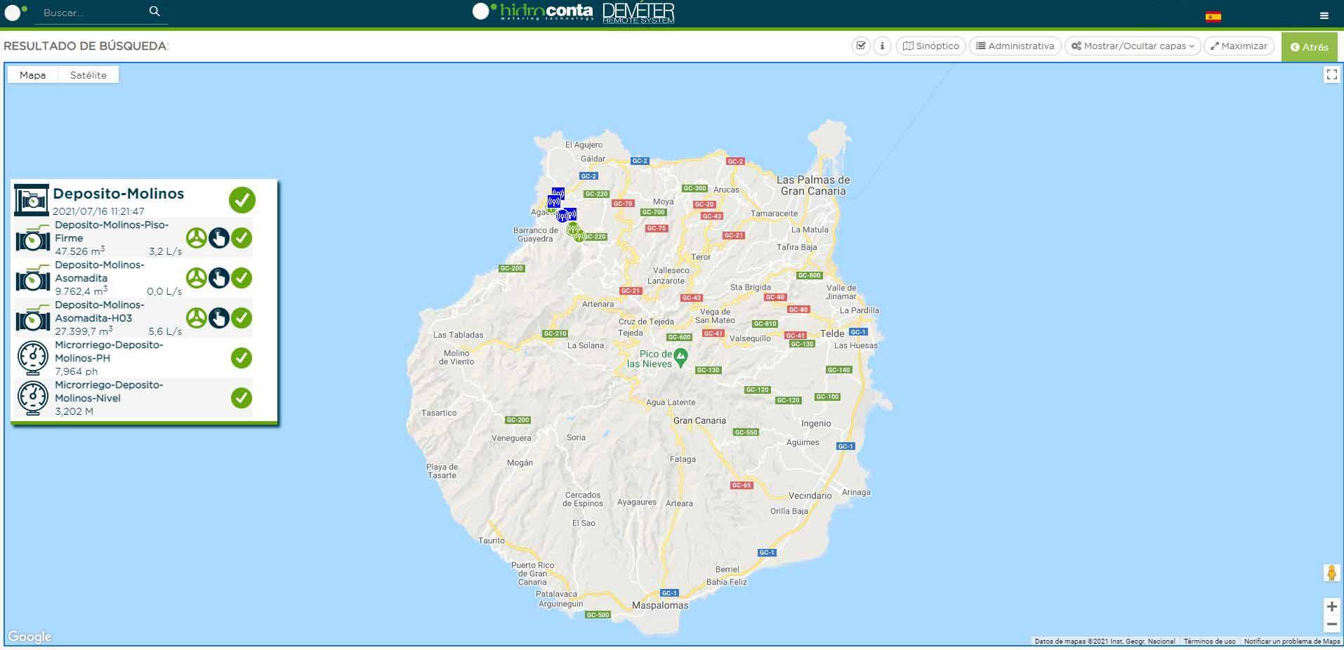 CCRR Villa de Agaete en Canarias